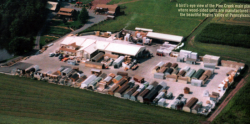 Pine Creek Structures Manufacturing Plant and Retail Sales Location in Hegins (Sping Glen), PA