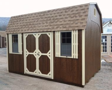 10x14 Gambrel Dutch Storage Barn at the Hegins (Spring Glen), PA Pine Creek Structures store