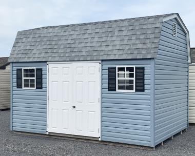 10x14 Vinyl Gambrel Barn Storage Shed